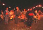 伏拝の盆踊り
