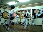 大瀬の太鼓踊り